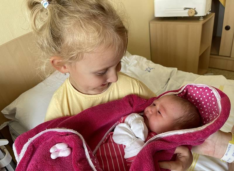 Eliška Vošická se narodila 14. července v 15.03 hodin rodičů Rostislavu a Janě Vošickým z Března u Chomutova. Měřila 51 cm a vážila 3,20 kg.