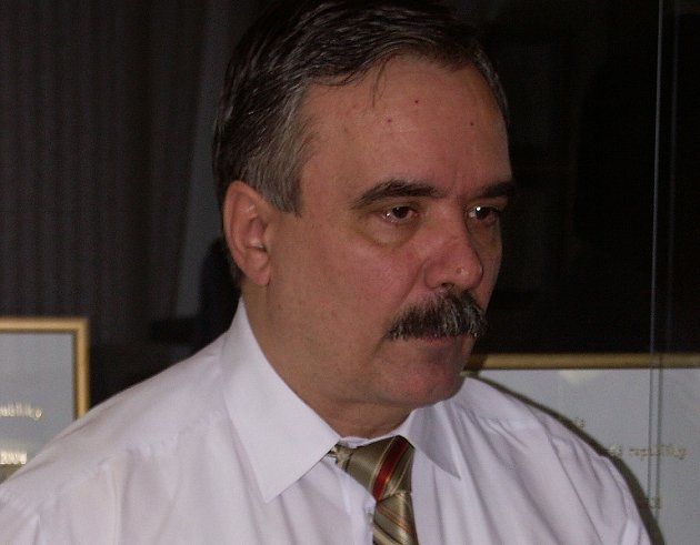 Vlastimil Vozka, primátor města Mostu.
