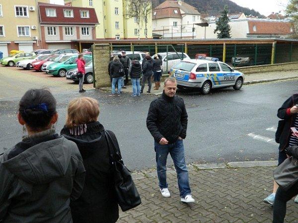 Evakuace Krušnohoru.