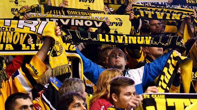 Fanoušci litvínovského hokeje. Ilustrační foto