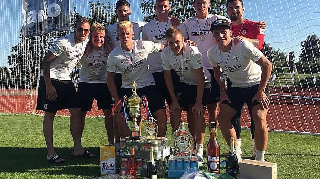 Mostecký celek Atlético na Quanto Cupu.