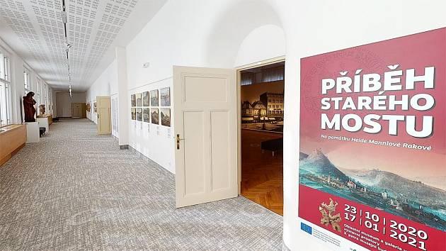 Ve čtvrtek se opět otevře veřejnosti Oblastní muzeum a galerie v Mostě. Jednou z právě probíhajících výstav je Historie starého Mostu.