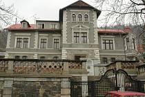 Bihlova vila na Zahražanech.