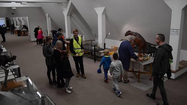 Muzejní noc v Oblastním muzeu a galerii v Mostě přilákala zájemce o živou a neživou přírodu.