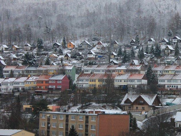 Město Meziboří.