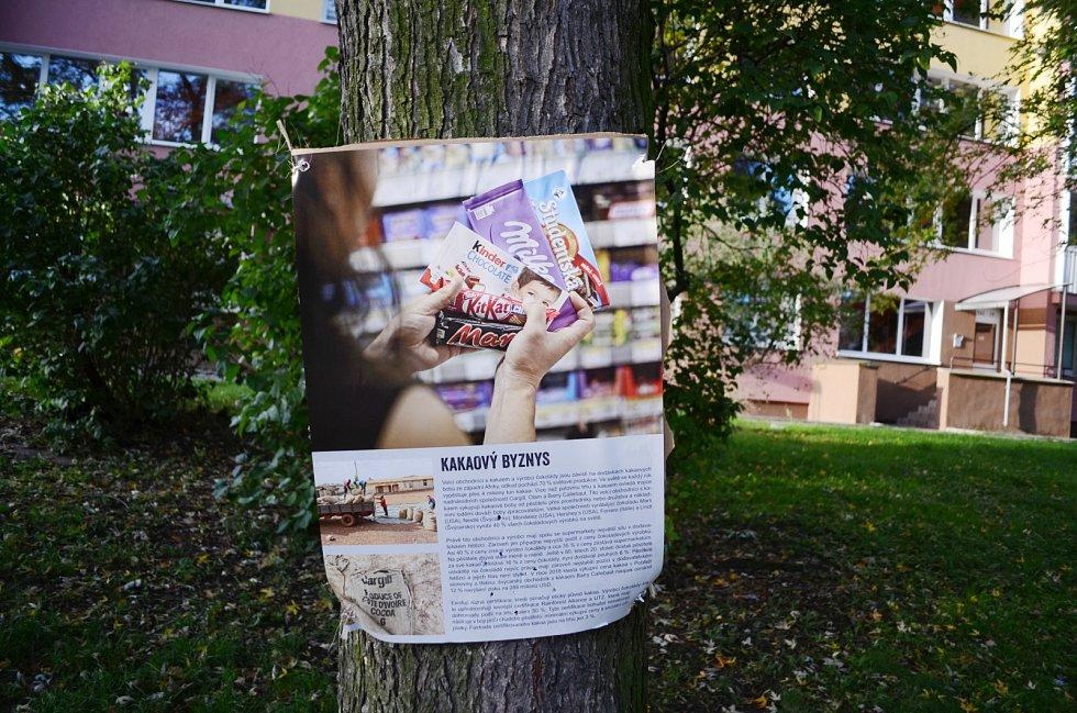 V parku v ulici Jana Kubelíka v Mostě skončila Výstava na stromech
