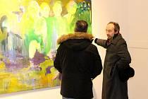 V přesunutém kostele bude Komentovaná prohlídka výstavy Jana T. Uranta.