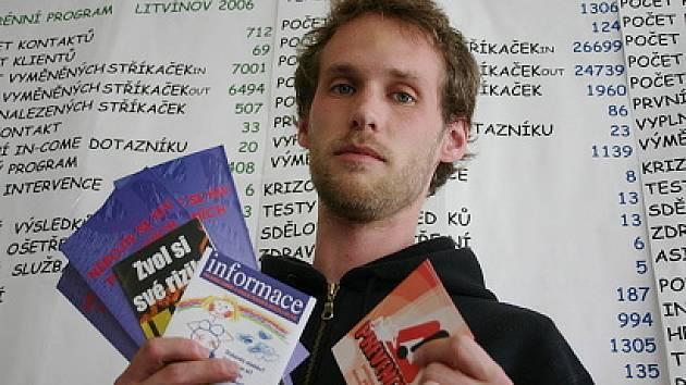 Roman Verga působí na Litvínovsku jako terénní pracovník.