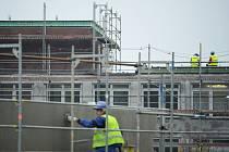 Rekonstrukce mostecké nemocnice.