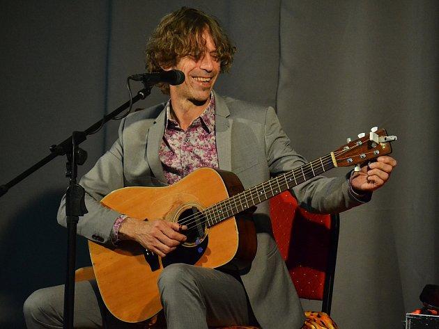Justin Lavash vystoupil v centru Benedikt