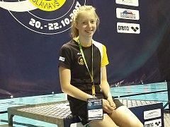 Litvínovský plavkyně Kamila Javorková.
