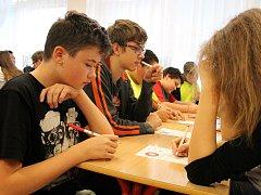 Žáci a studenti zápolili při oblastním kole soutěže pIšQworky.