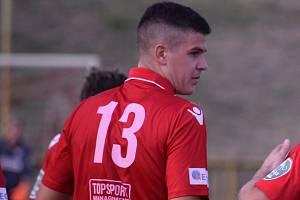 Spokojený střelec Dominik Dolejší.