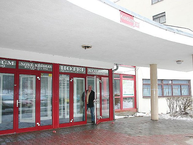Litvínovský bytový komplex Koldum.