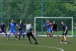 Most (v modrém) v domácím zápase proti Plzni.