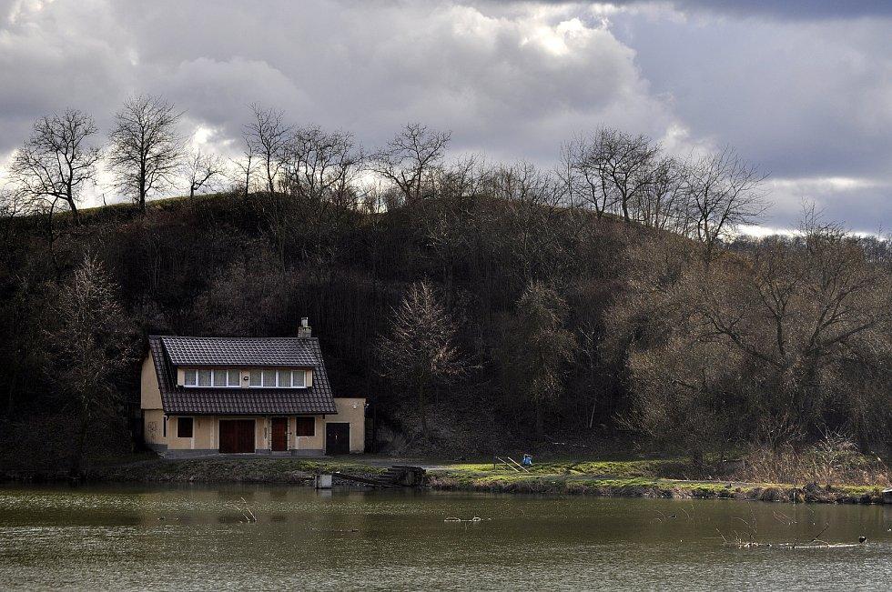 Rybářská bašta v obci Lužice