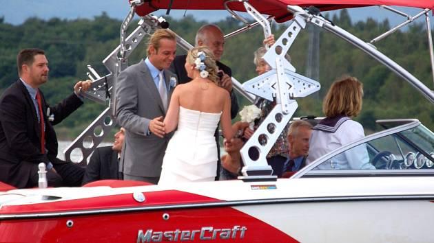 Svatba na Matyldě.