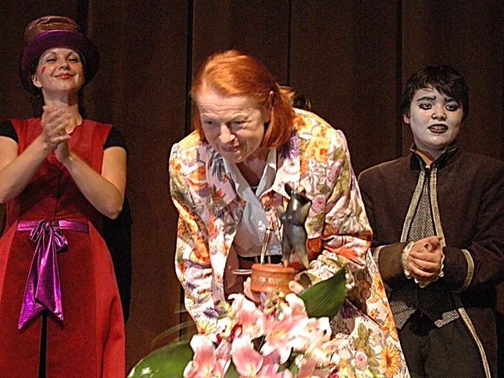 Iva Janžurová obdržela v Mostě cenu Forever Young.