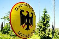 Hraniční přechod do Německa.
