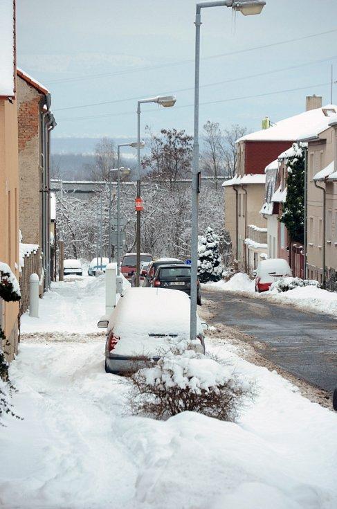 Mostecká část Souš, kde je židovský hřbitov.
