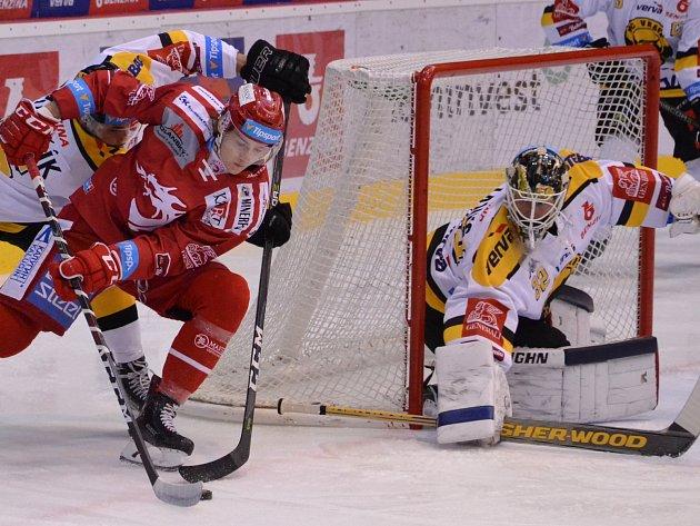Litvínov poprvé v nové sezoně prohrál.