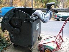 Sběrač odpadu.