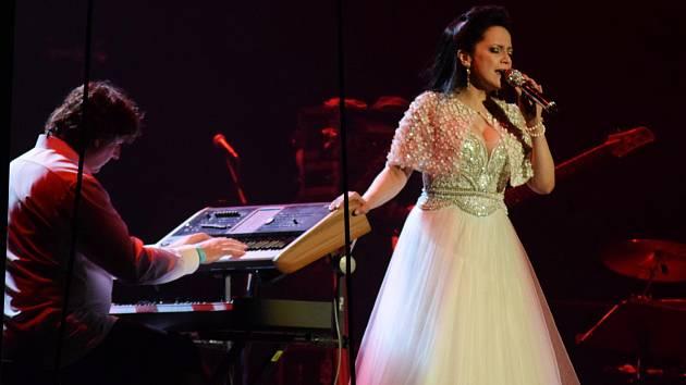 Koncert Lucie Bílé v Mostě