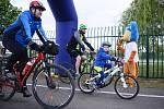 Na dvě stovky lidí dorazily v neděli na městskou cyklojízdu do areálu Benedikt v Mostě, kde začala turistická sezóna.
