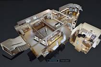Prohlídka ve 3D ukazuje Mezinárodní památník obětem II. světové války v Mostě jako na dlani.