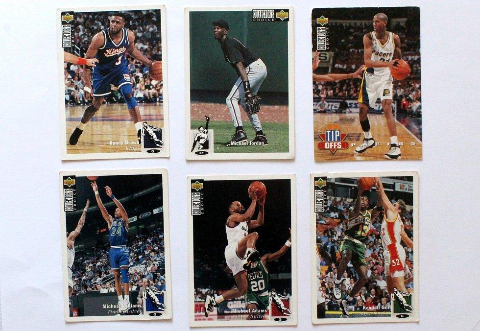 Sportovní kartičky se vrací. Vyráběly se, stále vyrábí a sbírají i u nás. Kartičky s basketbalisty.
