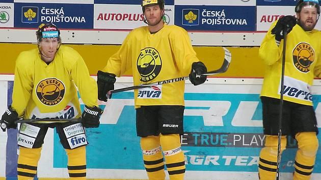 Radek Duda získal za Litvínov první bod. K vítězství bohužel nevedl.