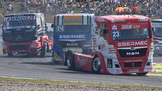 TOTAL Czech Truck Prix na autodromu v Mostě