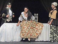 PRINCEZNA LADA (Lilian S. Fischerová), král (Otto Liška) a chůva (Věra Mrázková).