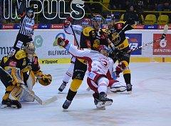 Litvínov versus Třinec.