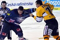 Litvínovský Frolo (ve žlutém) versus Vlach.
