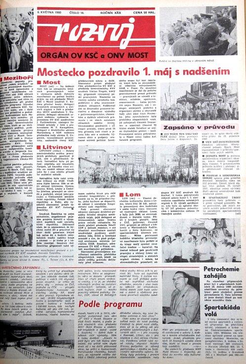 Rozvoj, květen 1980.