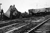 Jak jsme žili na Mostecku: Srážka dvou vlakových souprav v Holešicích
