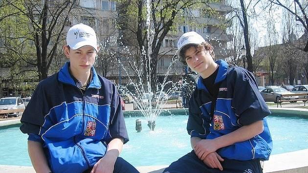 Filip Strajček a Pavel Benedikt jsou mistry světa.