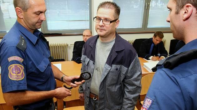Petr Kušnierz u soudu.