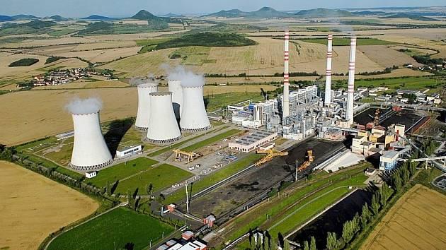 Elektrárna Počerady.