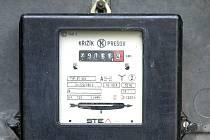 Elektroměr.