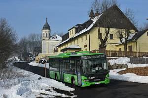 Autobusy DÚK vás dopraví do Krušných hor.