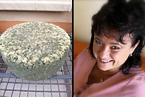 Mostečanka Romana Wolfová našla životní vášeň v sýru