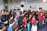 Žáci byli z Radka Bangy nadšení.
