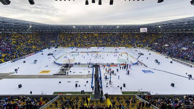 Stadion Rudolfa Harbiga v Drážďanech, dějiště Open Air 2020.