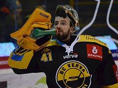 Litvínovští hokejisté, poslední tým extraligy, doma hostili mužstvo Zlína.