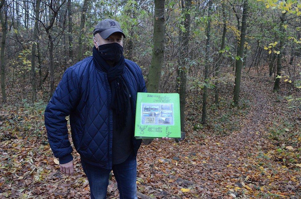 Litvínovský patriot Jiří Mareš prosazuje vylepšení lesoparku Nové Záluží.