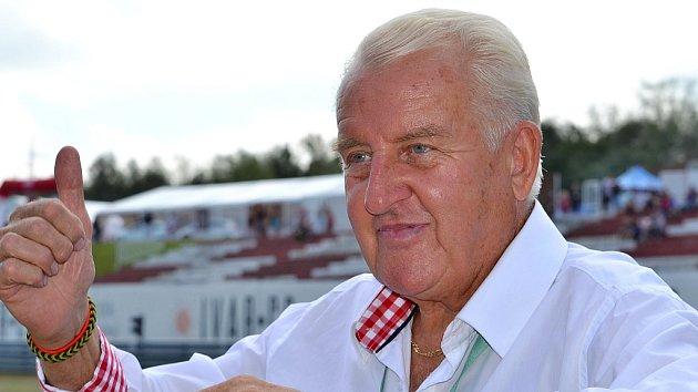 Legenda mosteckého závodního okruhu Gerhard Ittner, který zemřel loni v prosinci po dlouhé nemoci.