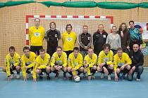 SK Sico Jilemnice ve žlutých dresech.