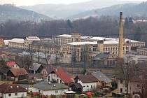 Továrna Hybler v Semilech.